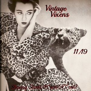 Jewelry - THURSDAY 11/19 Vintage Vixens Sign Up Sheet